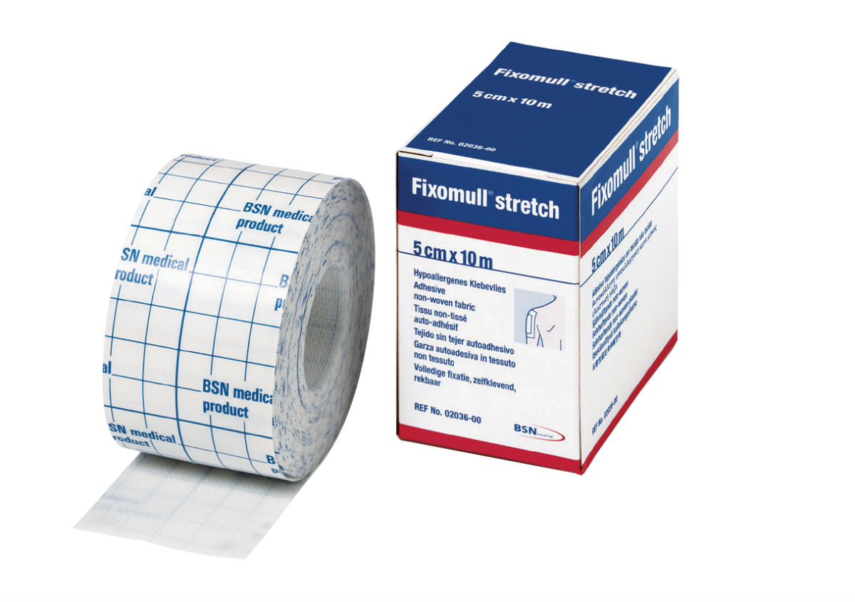 Fixomull strapping tape